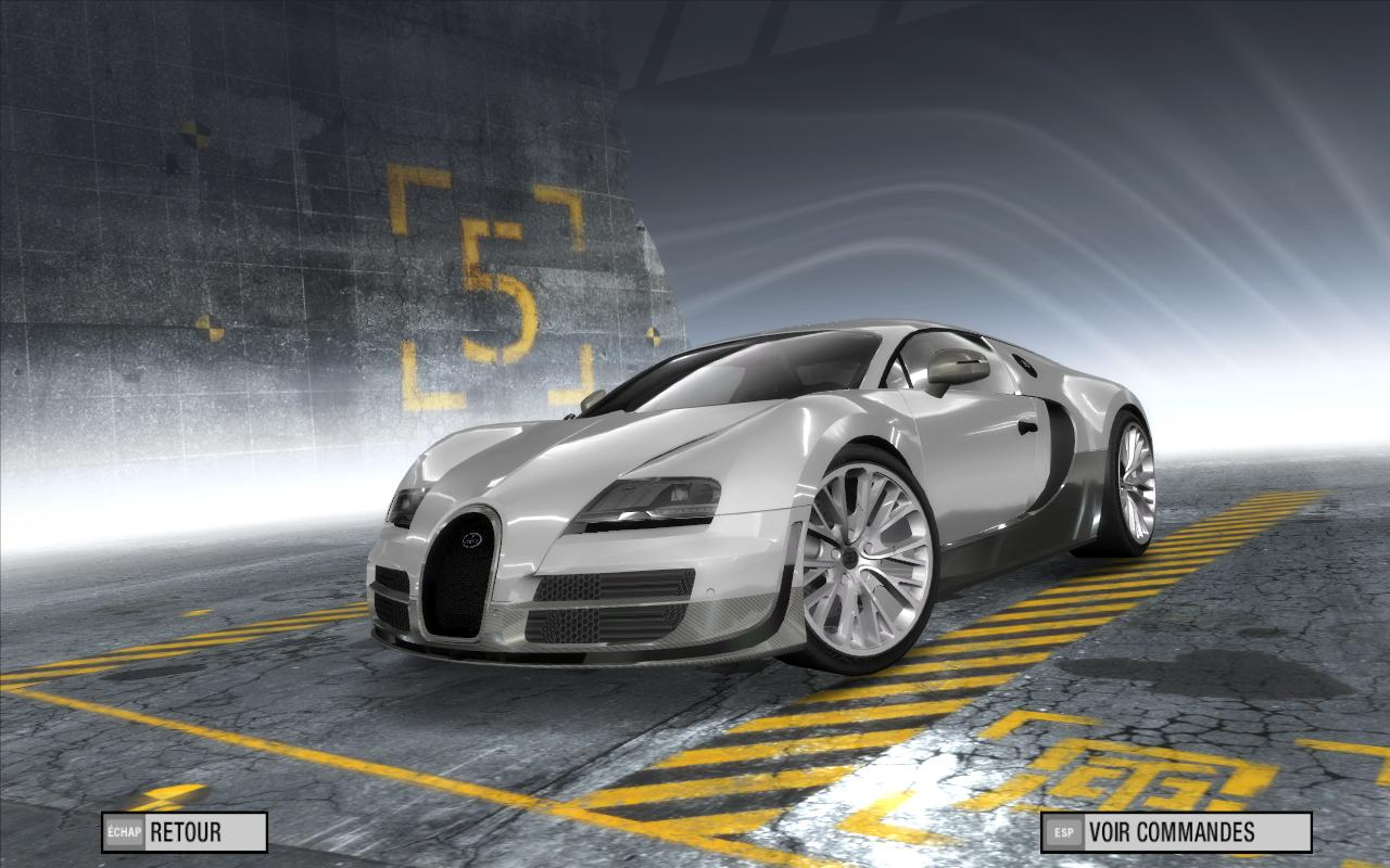 bugatti veyron super sport need for speed prostreet. Black Bedroom Furniture Sets. Home Design Ideas