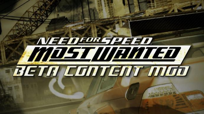 "NFS Most Wanted (2005) – Мод ""Beta Content"""